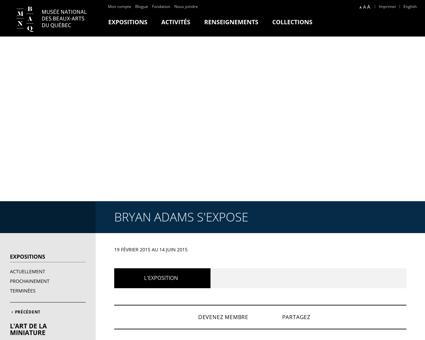 bryanadams.com Bryan
