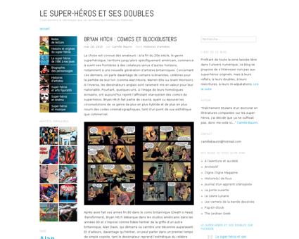Bryan hitch comics et blockbusters Bryan