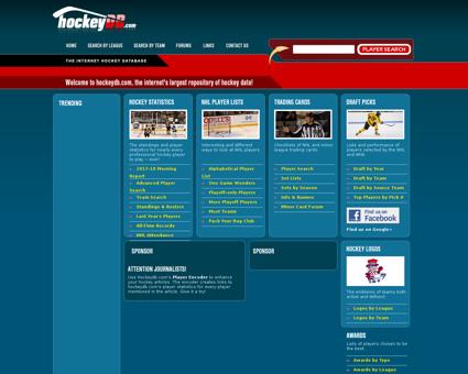 hockeydb.com Bryan