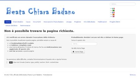 chiaralucebadano.it Chiara