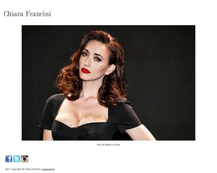 chiarafrancini.com Chiara
