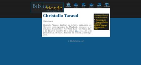 Christelle taraud 1033 Christelle