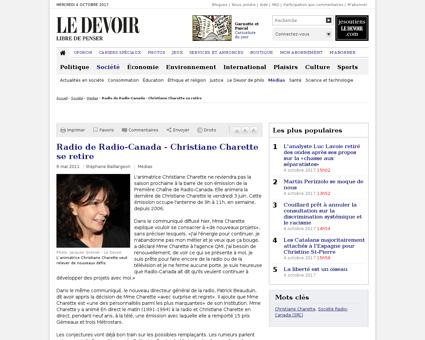 Christiane CHARETTE