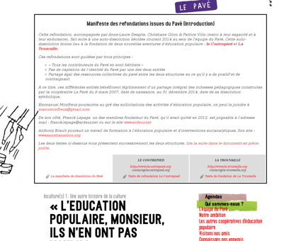 1 l education populaire monsieur Christiane