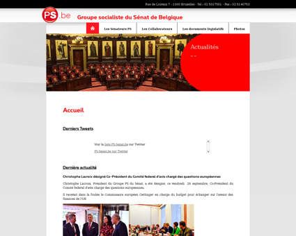 ps senat.be Christiane