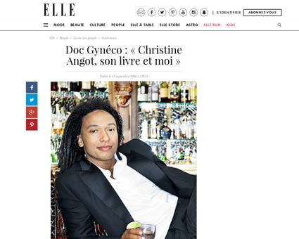 Doc Gyneco Christine Angot son livre et  Christine
