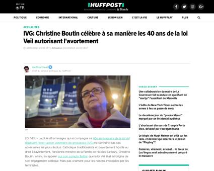 Ivg christine boutin 40 ans loi veil  av Christine