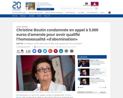 Cacophonie feut Christine