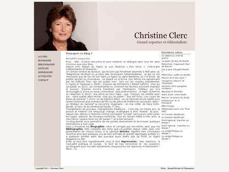 christineclerc.fr Christine