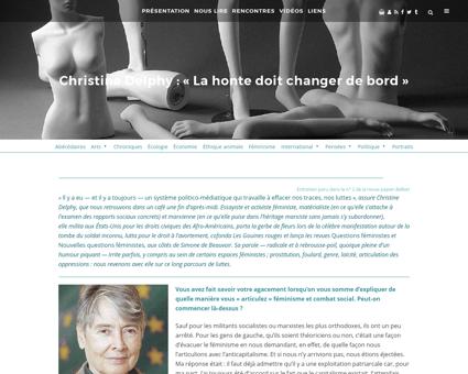 Christine delphy Christine