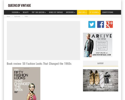 Book review 50 fashion looks that change Christine