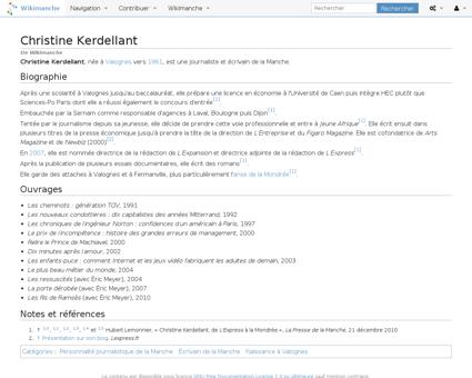 Index?title=Christine Kerdellant&oldid=1 Christine