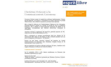 France 24 la defiance contre ockrent 340 Christine