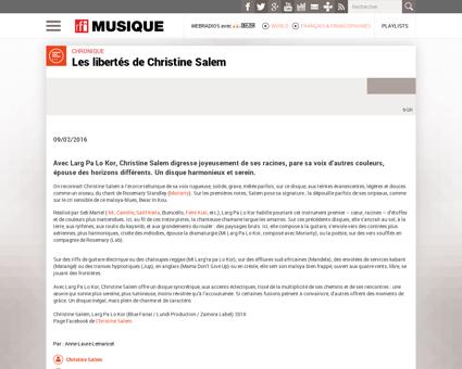 20160209 christine salem larg pa lo kor Christine