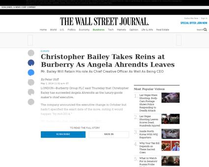 Christopher BAILEY