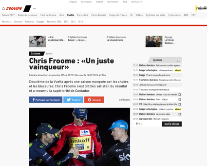 Cyclisme froome debarrasse d une maladie Christopher