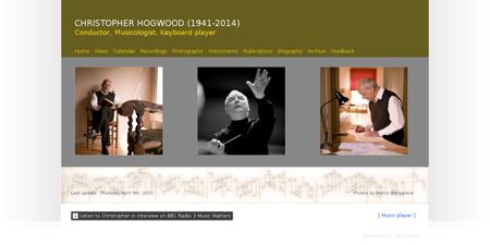 hogwood.org Christopher