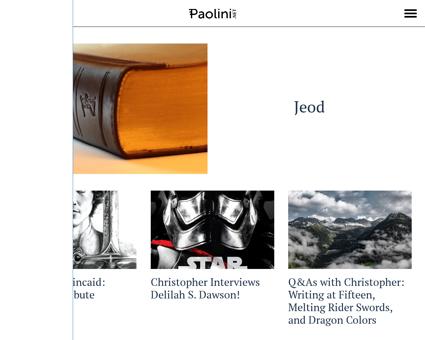 paolini.net Christopher