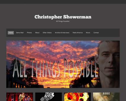christophershowerman.com Christopher