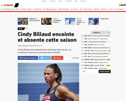 Cindy BILLAUD
