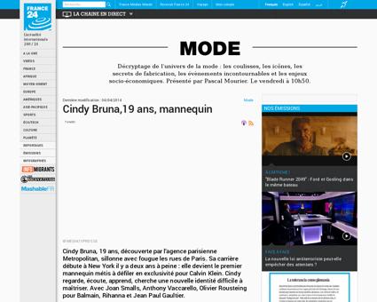 20140327 mode mediatvpresse cindy bruna  Cindy