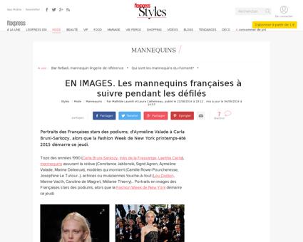 Les mannequins francaises connues 156451 Cindy