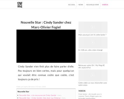 news de stars.com Cindy