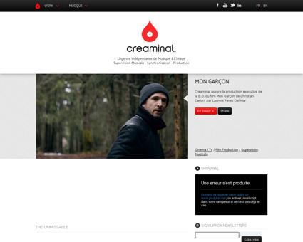 creaminal.com Claire