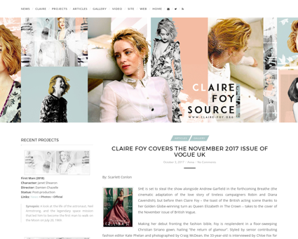 Claire foy.org Claire