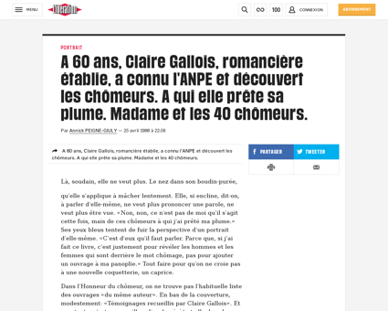 0101242354 a 60 ans claire gallois roman Claire