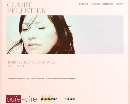 clairepelletier.com Claire