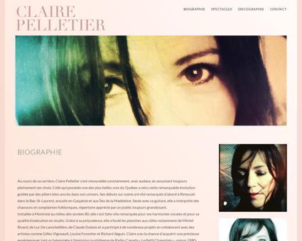 Biographie Claire