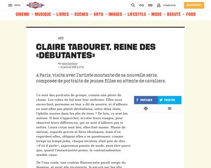 Claire tabouret reinedes debutantes 1185 Claire