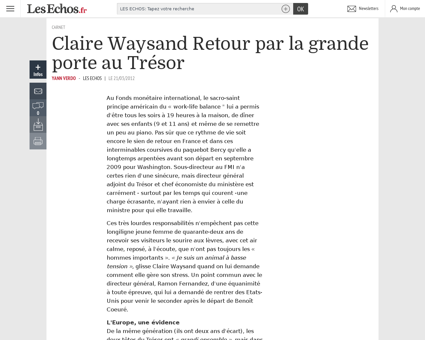 Claire WAYSAND