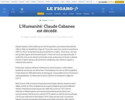 Claude CABANES