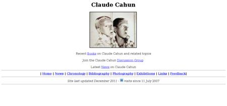 Cahun Claude