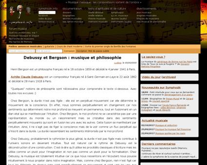 Debussy bergson musique philosophie,doss Claude