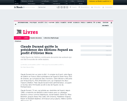 Claude DURAND