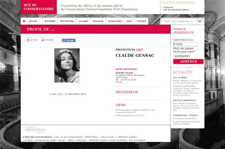 Affiche acteur?mots=Claude+Gensac&nom  G Claude
