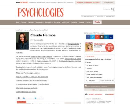Claude HALMOS