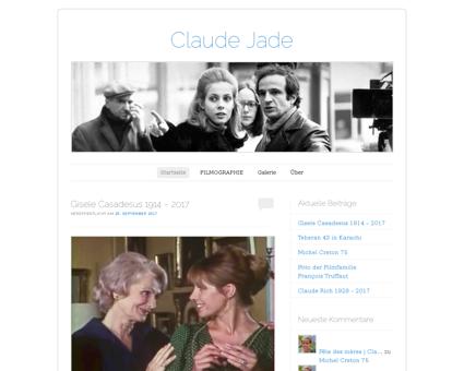 Claudejade.com Claude