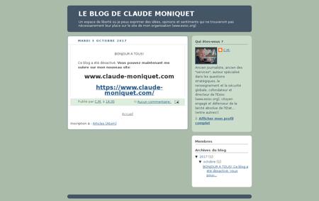 Leblogdeclaudemoniquet.blogspot.fr Claude