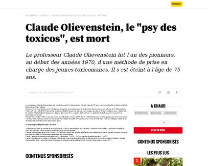 Claude OLIEVENSTEIN