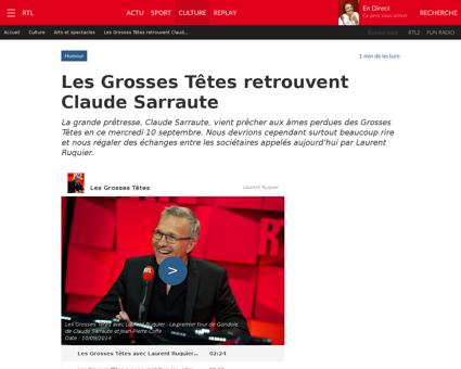 Claude SARRAUTE