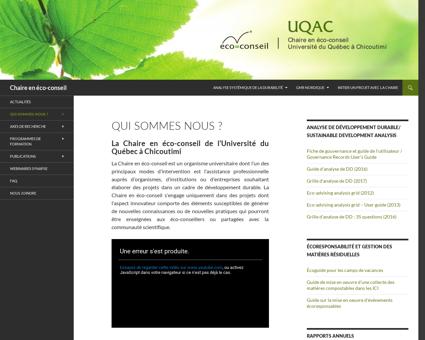 Ecoconseil.uqac.ca Claude