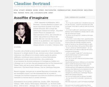 Claudinebertrand.fr Claudine