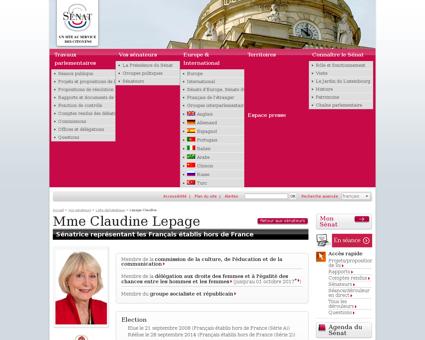 Lepage claudine08017t Claudine