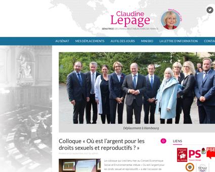Claudinelepage.eu Claudine