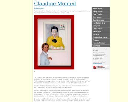 claudinemonteil.moonfruit.fr Claudine
