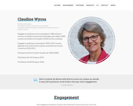 wyssa.ch Claudine